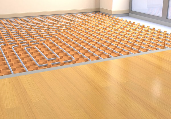Impact environnemental d'un plancher chauffant
